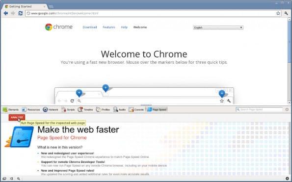 Die Pagespeed Insights im Einsatz. (Screenshot: google.com)