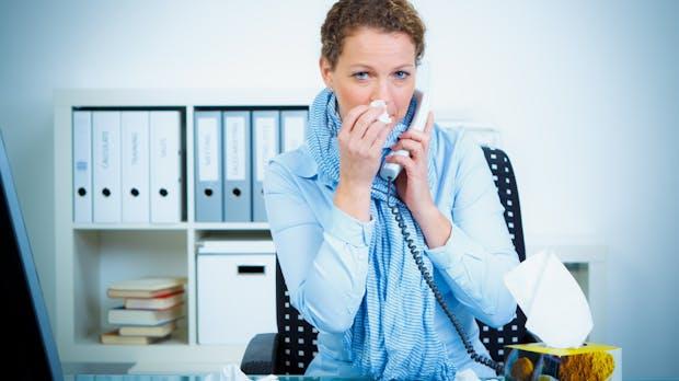 Der Arbeitsplatz als Risikozone: So schnell verbreiten sich Viren im Büro