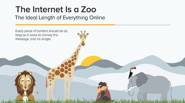 Nicht übertreiben: Die optimale Länge für Blogbeiträge, Facebook-Posts und Co.