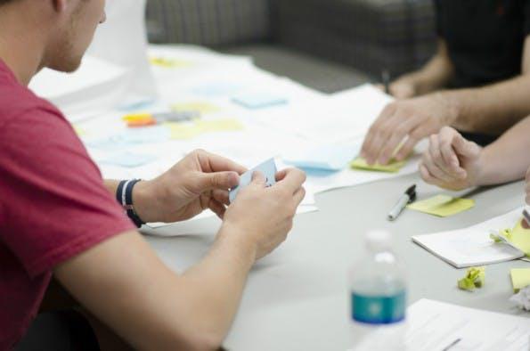Wenn du denkst, andere könnten die Idee klauen, bist du nicht überzeugt genug. (Quelle: Startupstockphotos)