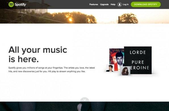 (Screenshot: Spotify)