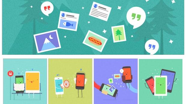 Googles neue Feature Copresence ermöglicht Datenaustausch zwischen Android- und iOS-Geräten