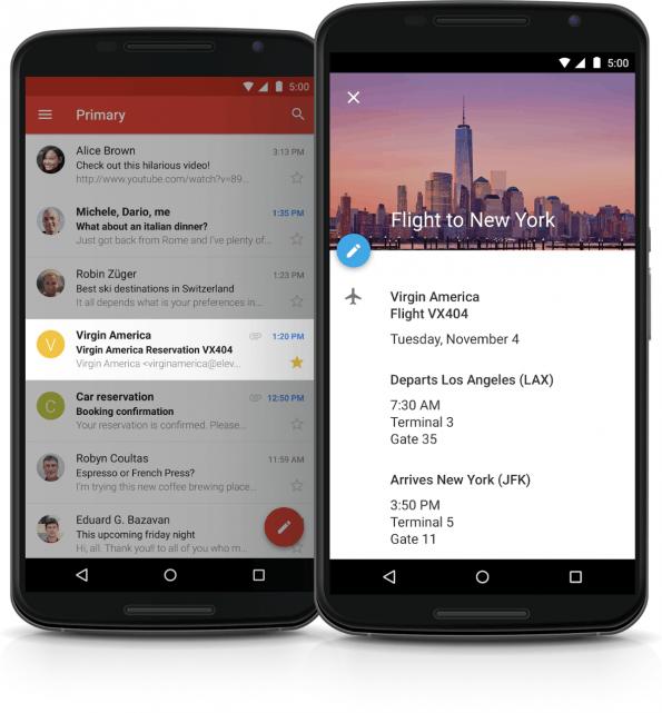 Googles Kalender-App im neuen Design und mit neuen Funktionen. (Bild: Google)