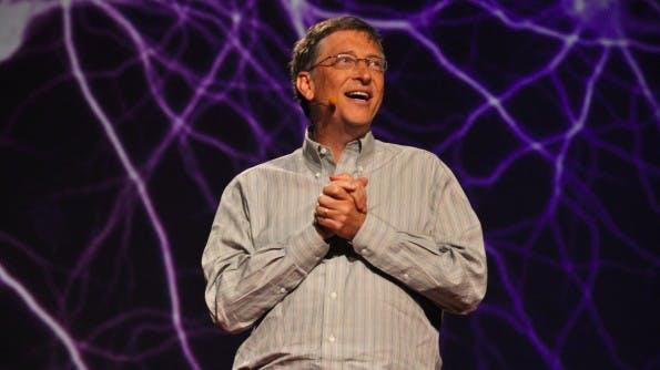 Kann sich freuen: Bill Gates ist der reichste der Tech-Milliardäre. (Bild: Flickr, Gisela Giardino (CC BY-SA 2.0))