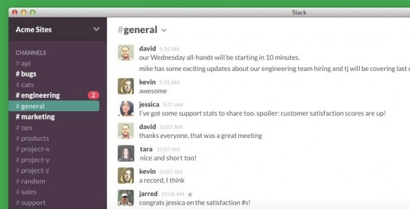 Slack wurde in erster Linie für Unternehmen konzipiert und bietet neben  Messaging im Skype-Stil auch noch einige zusätzliche Features.