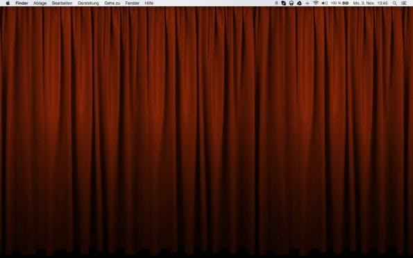 Desktop Curtain: Die kostenpflichtige Version bietet viele praktische Einstellungsmöglichkeiten. (Screenshot: Desktop Curtain)