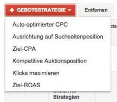 Neue Funktion in AdWords. (Screenshot: google.com)