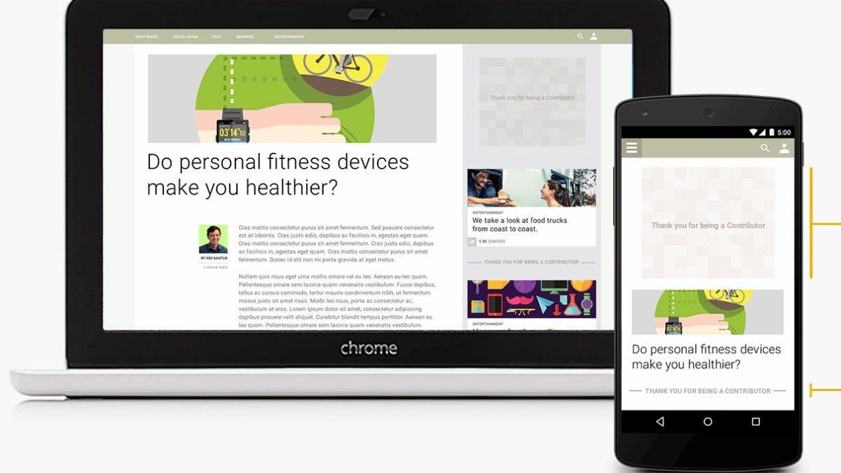 """Ein-Dollar-Abo statt Werbung: Google launcht mit """"Contributor"""" neues Tool für Publisher"""