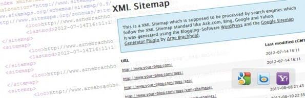 """Einfache XML-Sitempas lassen sich mit """"Google XML Sitemap"""" erstellen. (Grafik: wordpress.org)"""