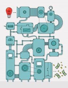 Gute Manager schaffen Prozesse für Innovationen (Grafik: mustafahacalaki – istockphoto)