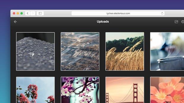 Lychee: Schickes  Foto-Management zum selber hosten [Screencast]