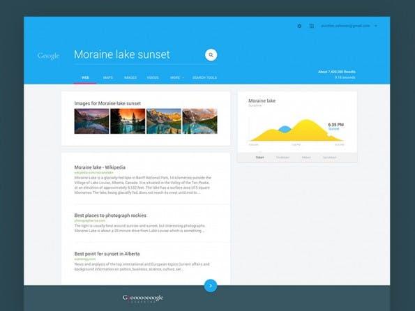Material Design: MaterialUp serviert euch schicke Beispiele für den Einsatz von Googles neuer Designsprache. (Grafik:  Aurélien Salomon / MaterialUp)