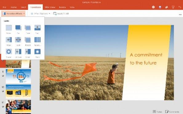 Word, Excel und PowerPoint: Microsoft stellt neue Office-Apps für iPhones und Android-Tablets vor. (Screenshot: Microsoft)