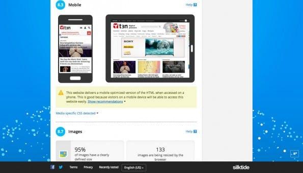 Ein Test eurer Website mit Nibbler kann sich rentieren. (Screenshot: Nibbler)