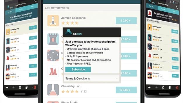 """Ein """"Spotify"""" für Apps? Opera bietet App-Stores mit Abo-Modell"""