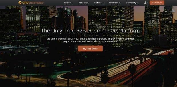 (Screenshot: OroCommerce)