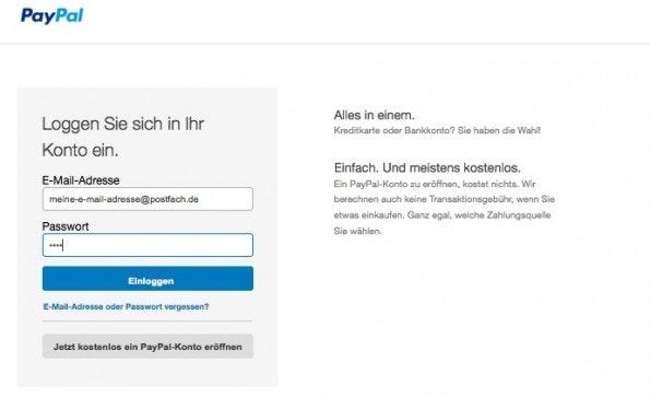 Paypal Verdächtige E Mail