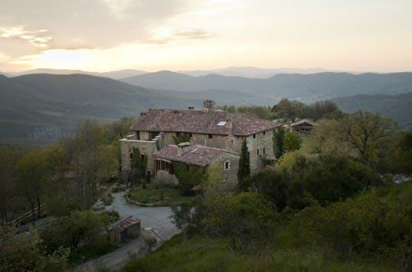 In diesem Landhaus in der italienischen Umbria-Region werden im Mai 2015 rund 20 Entrepreneure an ihrem Geschäftsmodell basteln. )Foto: Workaway)