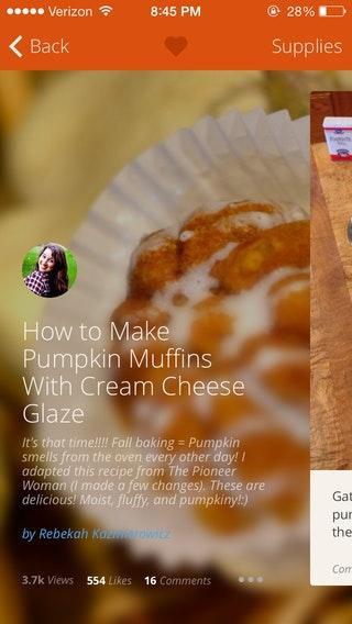 """Der """"Floor Blur"""" auf SnapGuide. Look, Mom, no Overlay!"""