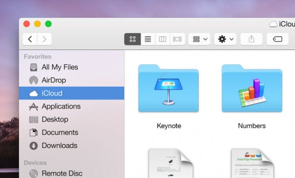 OS X Yosemite – Flatty, nicht Flat. (Screenshot: Erik D. Kennedy)