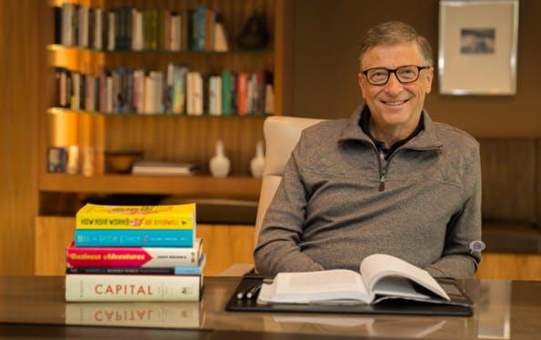 Bill Gates empfiehlt das beste Unternehmerbuch, das er je gelesen hat. (Screenshot: gatesnotes.com)