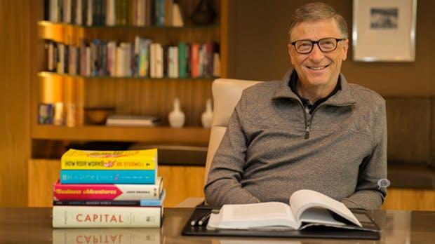 Wer die Welt besser verstehen will, sollte diese 2 Bücher lesen – sagt Bill Gates