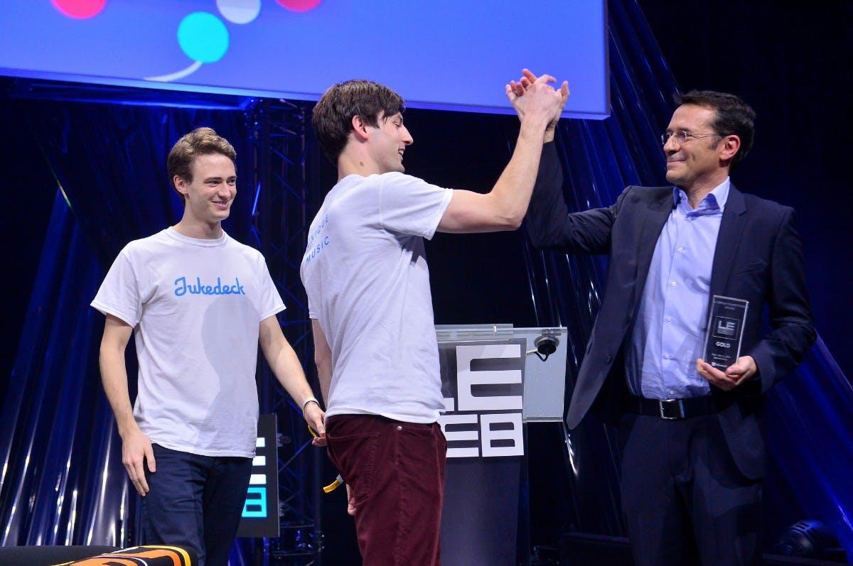 Jukedeck: Mit diesem außergewöhnlichen Pitch begeisterte das Startup die LeWeb