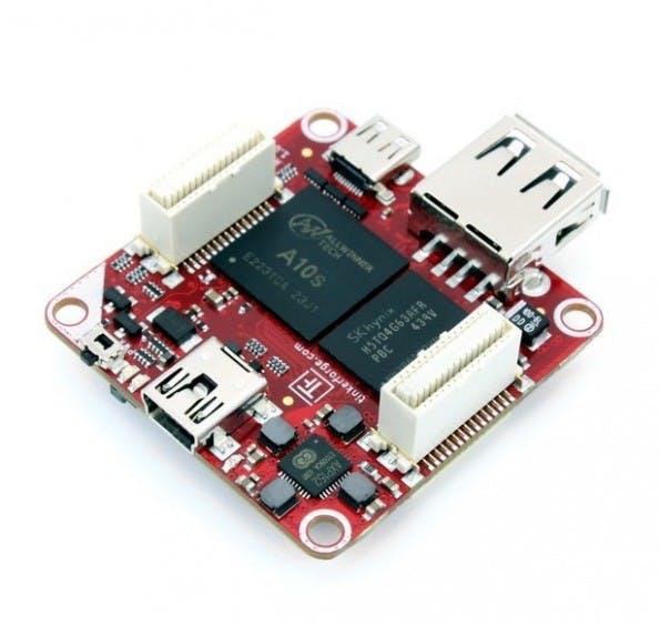 Der RED Brick bietet viele Anschlussmöglichkeiten auf engstem Raum (Screenshot: tinkerforge.com)