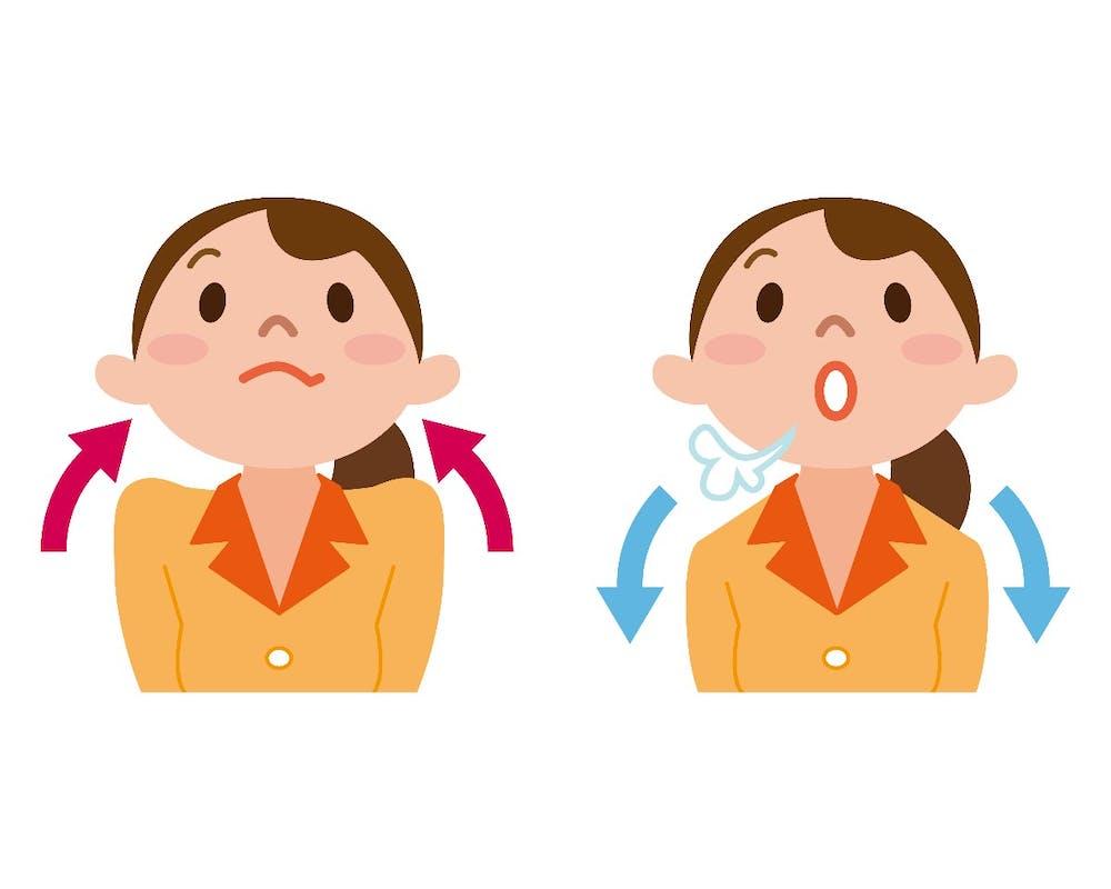 Einatmen, ausatmen, einatmen, ausatmen – gleich geht es dir schon besser. (Foto: Shutterstock)