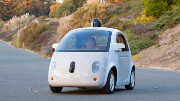 Das selbstfahrende Auto soll schon 2015 auf den Straßen zu sehen sein. (Bild: Google)