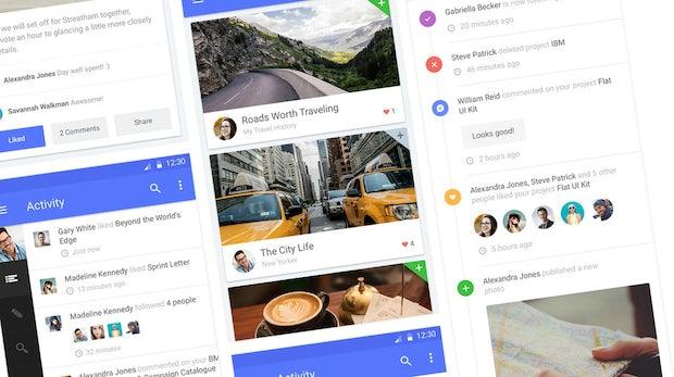 UI-Kits, Frameworks, Tools und mehr: So legt ihr mit Googles Material Design los