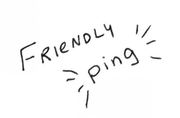 Mit einer freundlichen Erinnerung an eine uralte Mail macht man sich Freunde. (Grafik: Sarah Cooper)