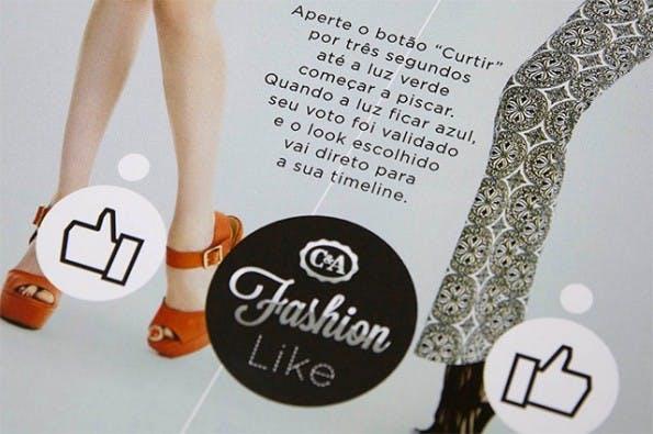 Ein Druck auf den Like-Button und die Anzeige verbindet sich mit Facebook. (Foto: dm9ddb.com.br)