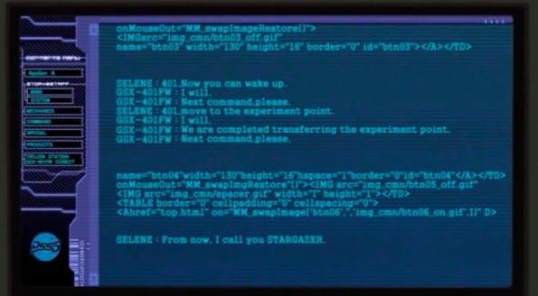 Tumblr: Dieser Blog sammelt Aufnahmen von Quellcode aus verschiedenen Filmen. (Screenshot: Tumblr)
