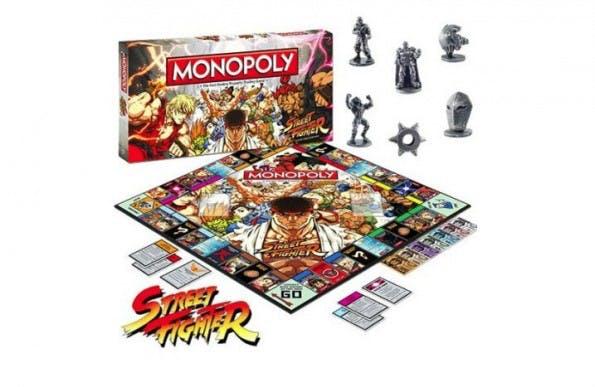 Streetfighter und Monopoly in einem geekigen Weihnachtsgeschenk vereint. (Bild: Funstock)