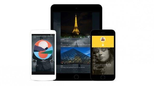 Wire: Die Messaging-App des Skype-Mitbegründers gibt es vorerst nur für iOS, OS X und Android. (Grafik: Wire)