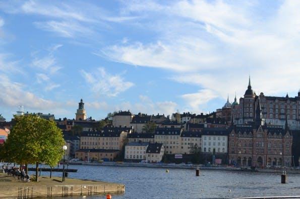 Blick auf den Stadtteil Södermalm von der Insel Riddarsholm aus. (Foto: Jochen G. Fuchs)