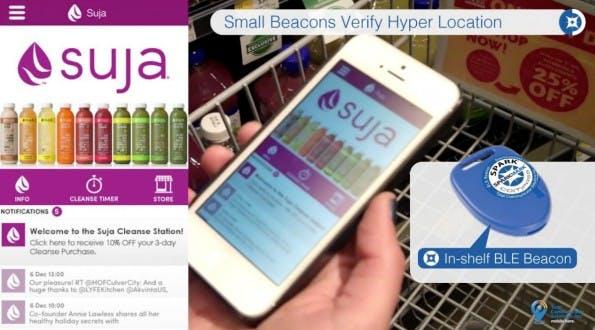 Die Beacons-Lösung von Total Communicator Solutions erhält bald eine Retargeting-Funktion. (Screenshot: YouTube)