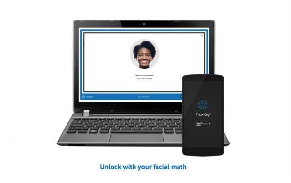 Gesichtserkennung ist nur eine Option bei Intels neuem Passwortmanager True Key. (Screenshot: Intel Security)