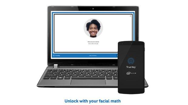 True Key: Intels neuer Passwortmanager setzt auf biometrische Merkmale und Handyhilfe