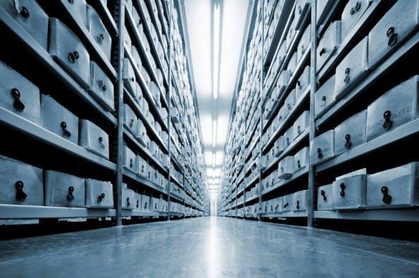 """Datensparsamkeit vs. Big Data: """"Im Zweifel erst mal alles speichern und später schauen, was man damit anfangen kann"""". (Foto: iStockphoto)"""