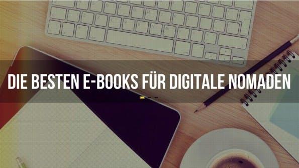 Sieben E-Books für Digitale Nomeaden. (Montage: t3n)