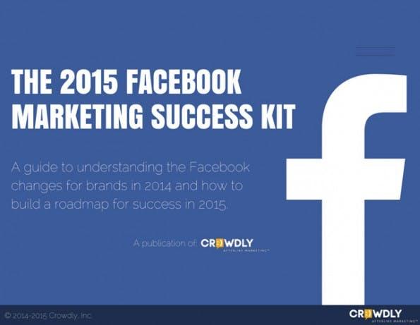 Facebook-Marketing 2015. (Grafik: Crowdly)