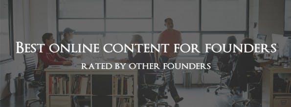 Von Gründern für Gründer: FounderNotes kuratiert spannende Artikel. (Grafik: FounderNotes)