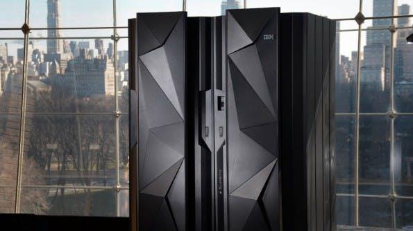 Die neue Großrechner-Generation z13. (Foto: IBM)