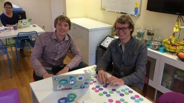 Die Mesosphere-Gründer Florian Leibert und Tobias Knaup. (Foto: t3n)