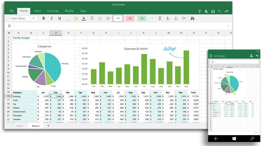 Office für Windows 10: Vorschauversionen von Word, Excel und PowerPoint stehen zum kostenlosen Download bereit [Update]