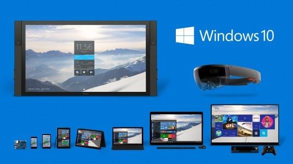 Windows 10 soll auf allen Geräteklassen zu Hause sein. (Grafik: Microsoft)
