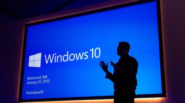 Windows 10 erstmals auf 50 Prozent aller Computer und Laptops