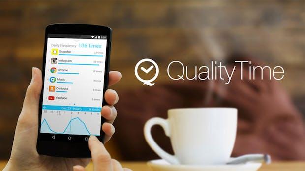 QualityTime: Diese App weiß, wie oft du zu deinem Smartphone greifst